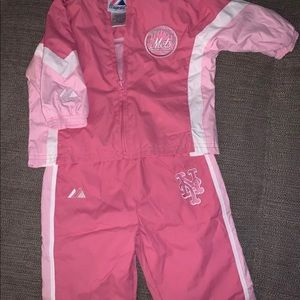 NY Mets baby track suit